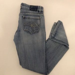Chip and Pepper CP7 Distressed Skinny Jeans Size 5